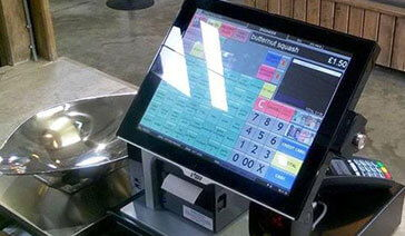 Shop Touch Screen with Scales